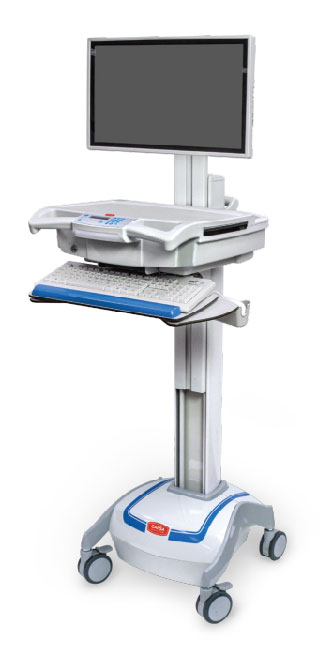 Capsa Healthcare M38e Mobile Computing Cart